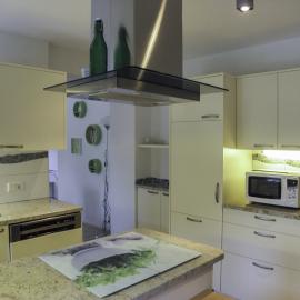 Küche in der Ferienwohnung