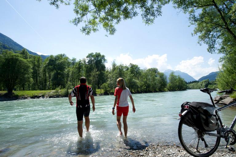 Radfahren im Gail- und Drautal